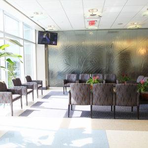 Interior of Leon Medical Center Flagler building