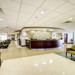 Leon Medical Centers interior of Miami building